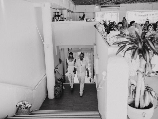 La boda de David y Alba en La Manga Del Mar Menor, Murcia 22