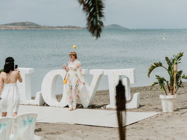 La boda de David y Alba en La Manga Del Mar Menor, Murcia 33