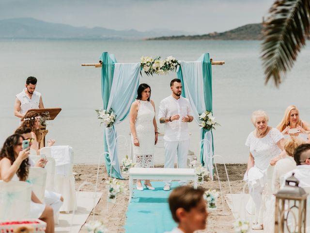 La boda de David y Alba en La Manga Del Mar Menor, Murcia 35