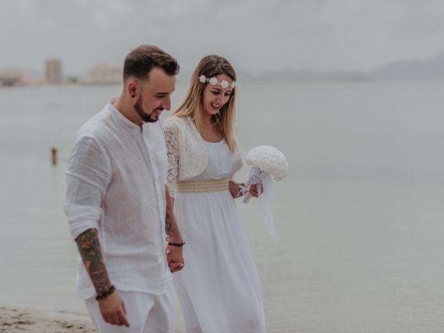 La boda de David y Alba en La Manga Del Mar Menor, Murcia 42