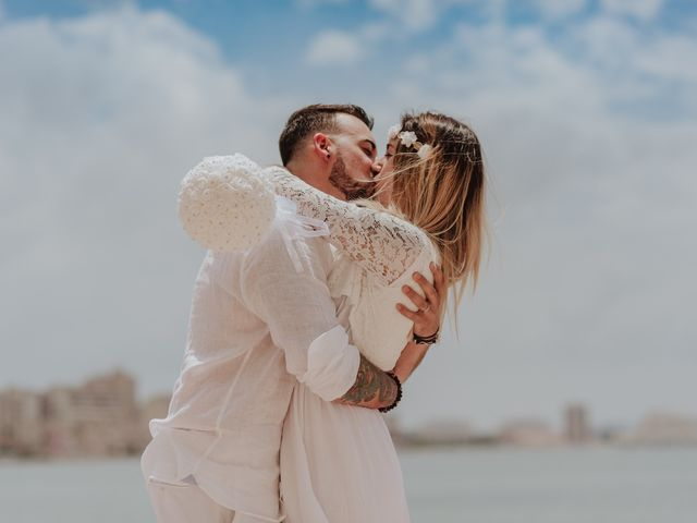 La boda de David y Alba en La Manga Del Mar Menor, Murcia 43