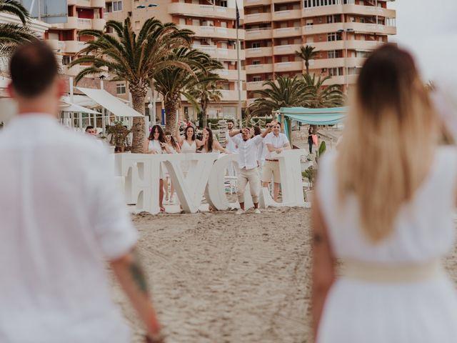 La boda de David y Alba en La Manga Del Mar Menor, Murcia 44