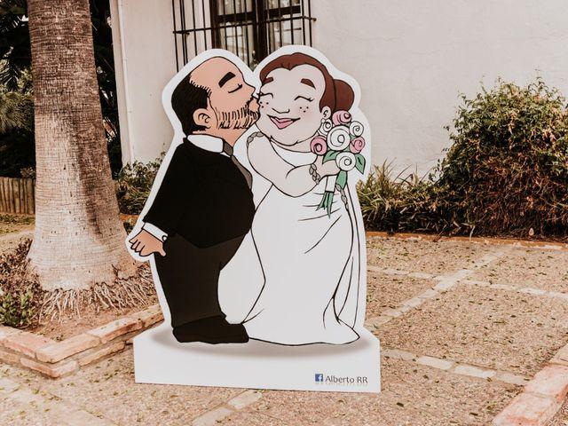 La boda de Jesús y Celia en Carmona, Sevilla 1