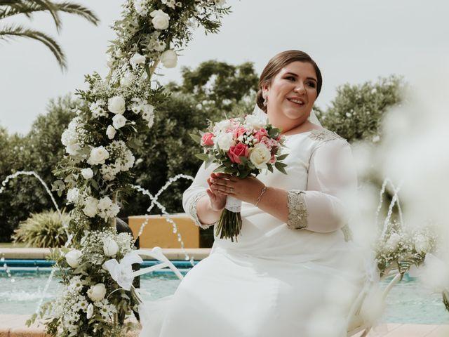La boda de Jesús y Celia en Carmona, Sevilla 2