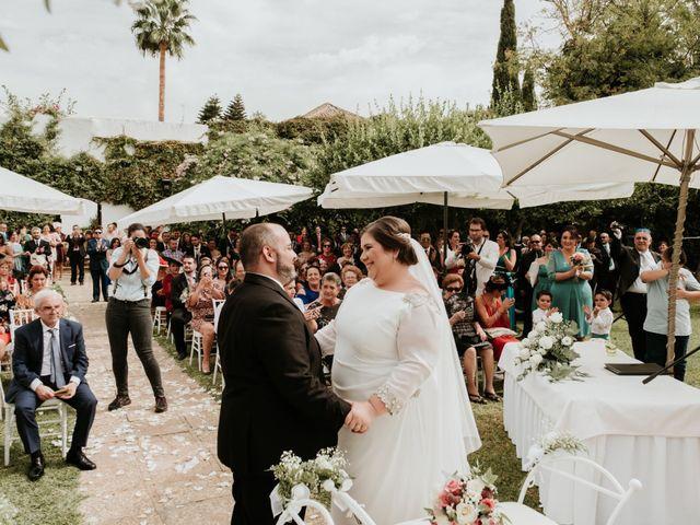 La boda de Jesús y Celia en Carmona, Sevilla 33
