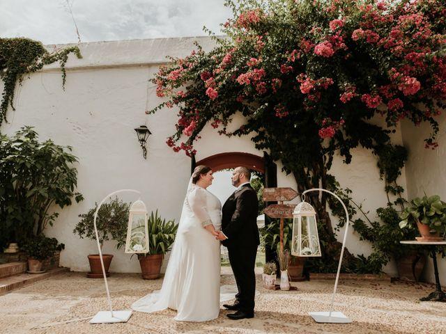 La boda de Jesús y Celia en Carmona, Sevilla 34