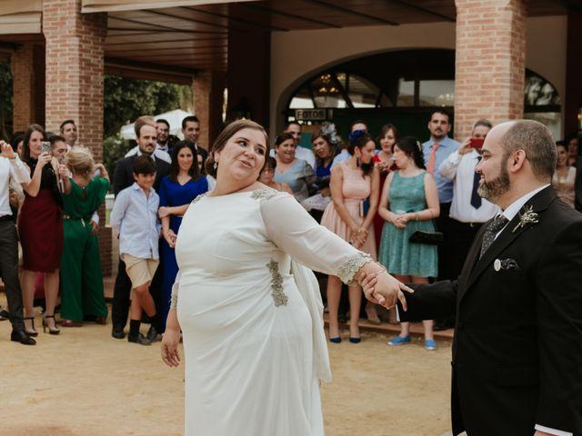 La boda de Jesús y Celia en Carmona, Sevilla 44