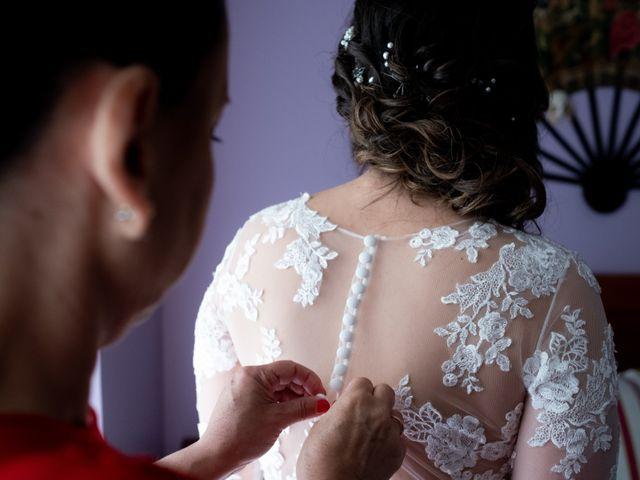 La boda de Dani y Andrea en Ventas De Armentia, Burgos 6