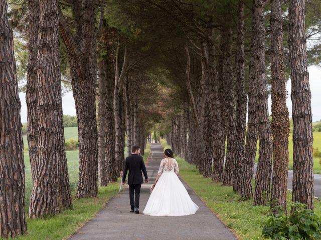 La boda de Dani y Andrea en Ventas De Armentia, Burgos 11