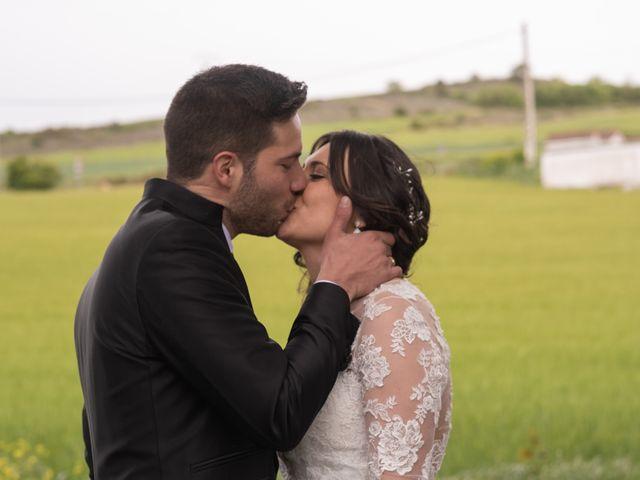 La boda de Dani y Andrea en Ventas De Armentia, Burgos 12