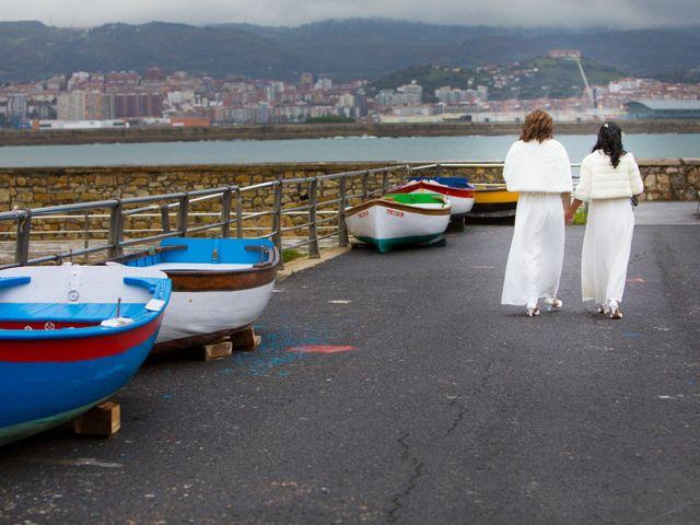 La boda de Rosa y Lina en Getxo, Vizcaya 11