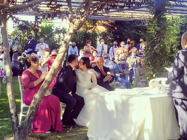La boda de Rubén y María