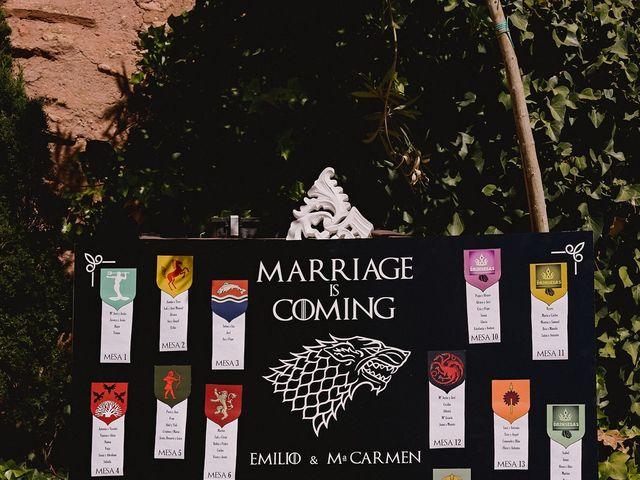 La boda de Mª Carmen y Emilio en Manzanares, Ciudad Real 164