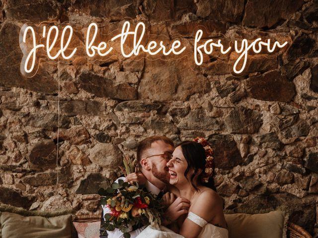 La boda de Alex y Kristel  en Riudellots De La Selva, Girona 4