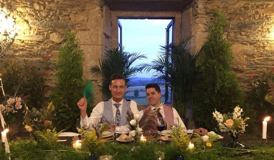 La boda de Nestor y Salvador en Santirso (Cornado), A Coruña