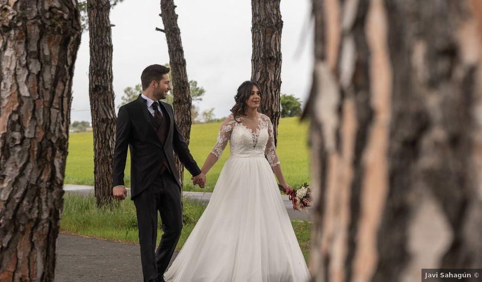 La boda de Dani y Andrea en Ventas De Armentia, Burgos