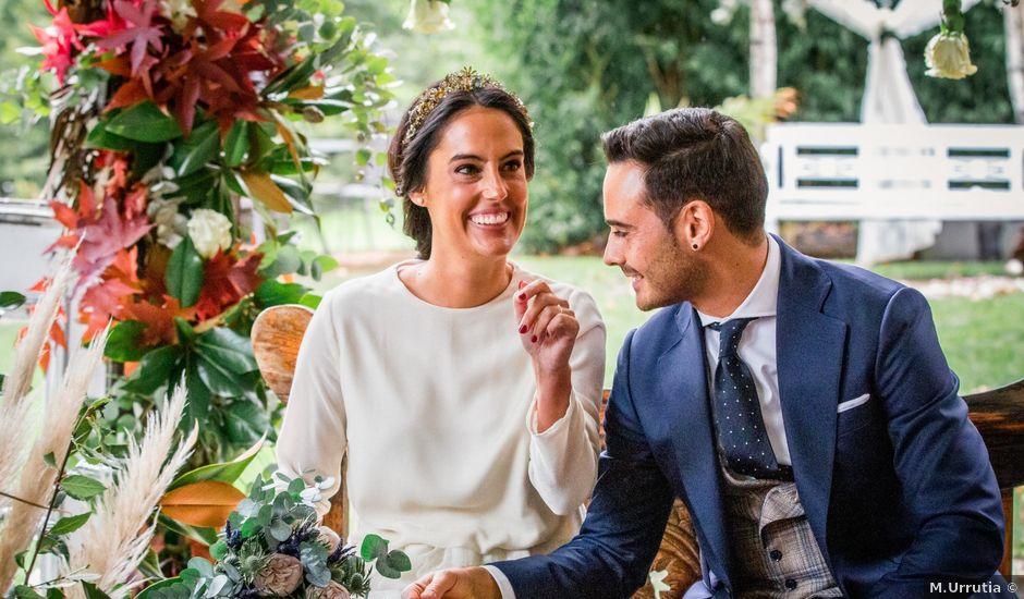 La boda de Ruben y Ana en Atxondo, Vizcaya