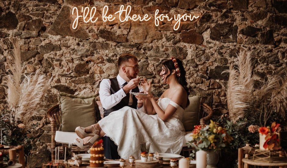 La boda de Alex y Kristel  en Riudellots De La Selva, Girona