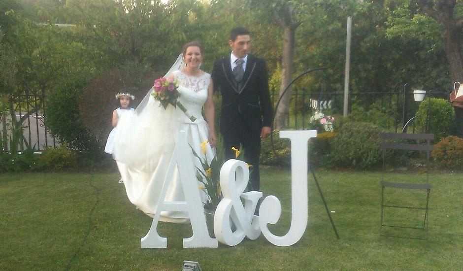 La boda de Jose y Andrea en Ribadavia, Orense