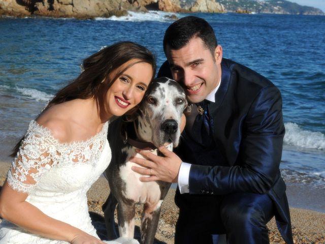 La boda de Marc y Tatiana en Sant Vicenç De Montalt, Barcelona 6
