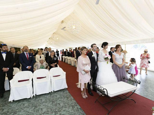 La boda de Fidel y Lorena en Navarrete, La Rioja 18