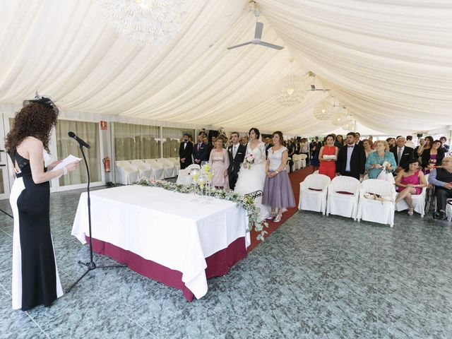 La boda de Fidel y Lorena en Navarrete, La Rioja 20