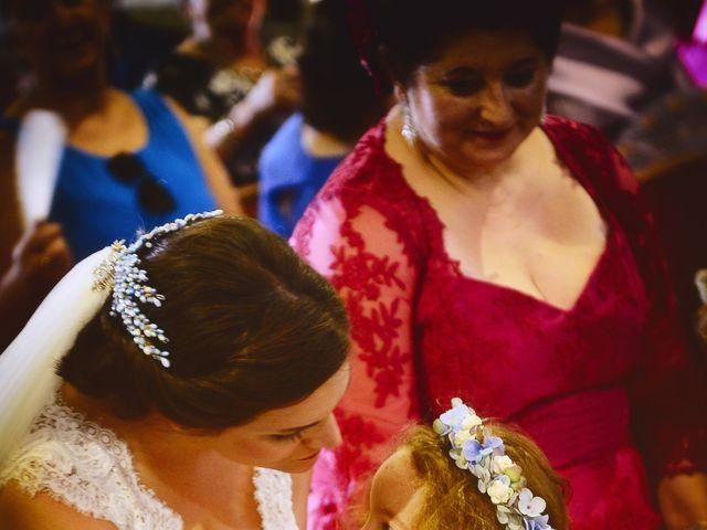 La boda de Jonatan y Elvira en Cabezabellosa, Cáceres 43