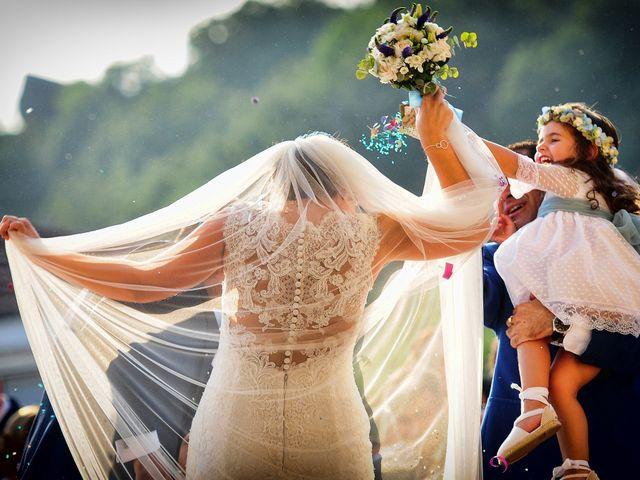 La boda de Jonatan y Elvira en Cabezabellosa, Cáceres 45