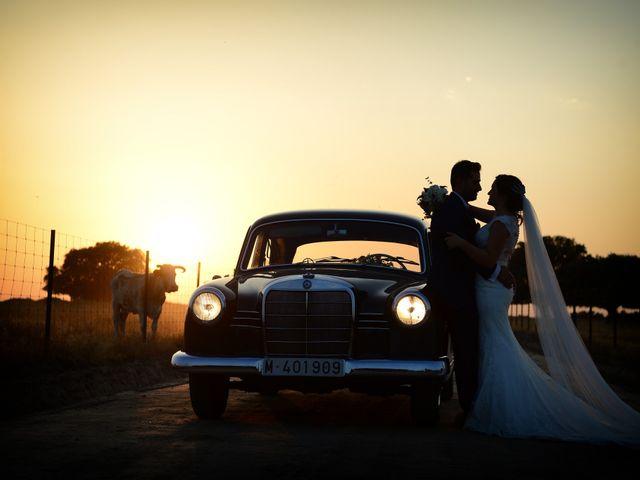 La boda de Jonatan y Elvira en Cabezabellosa, Cáceres 48