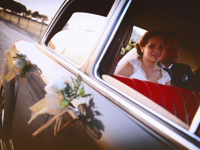 La boda de Jonatan y Elvira en Cabezabellosa, Cáceres 49