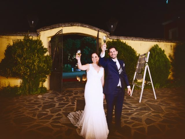 La boda de Jonatan y Elvira en Cabezabellosa, Cáceres 51