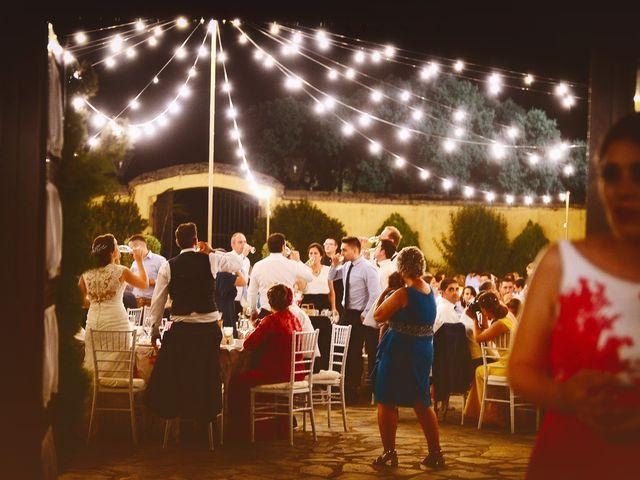 La boda de Jonatan y Elvira en Cabezabellosa, Cáceres 58