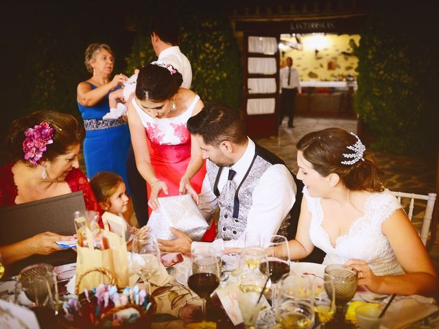 La boda de Jonatan y Elvira en Cabezabellosa, Cáceres 59