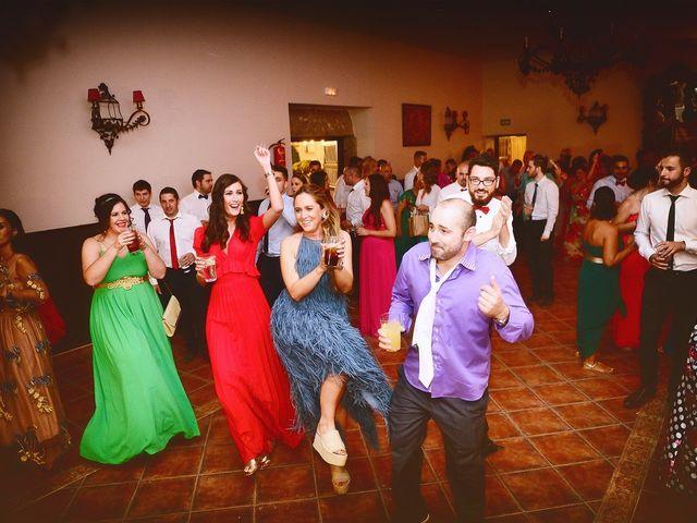 La boda de Jonatan y Elvira en Cabezabellosa, Cáceres 66