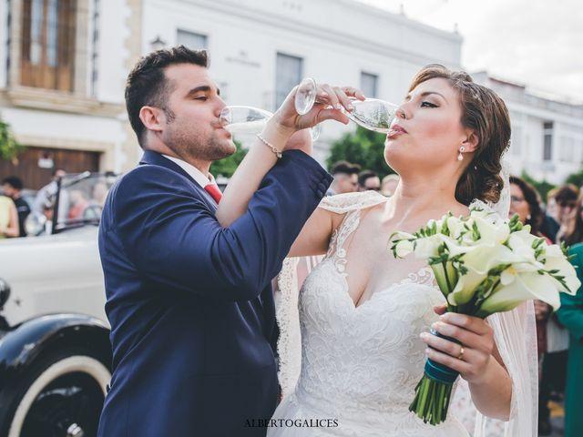 La boda de Moisés  y Maria José  en Trebujena, Cádiz 5
