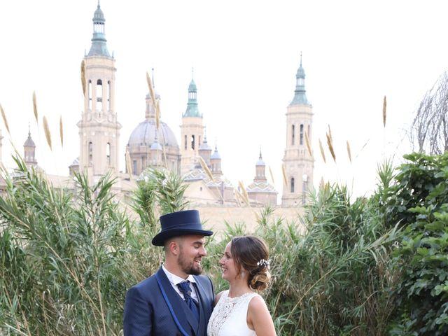 La boda de Nuria y Andrés en Zaragoza, Zaragoza 14