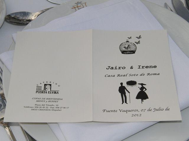 La boda de Jairo y Irene en Fuente Vaqueros, Granada 34