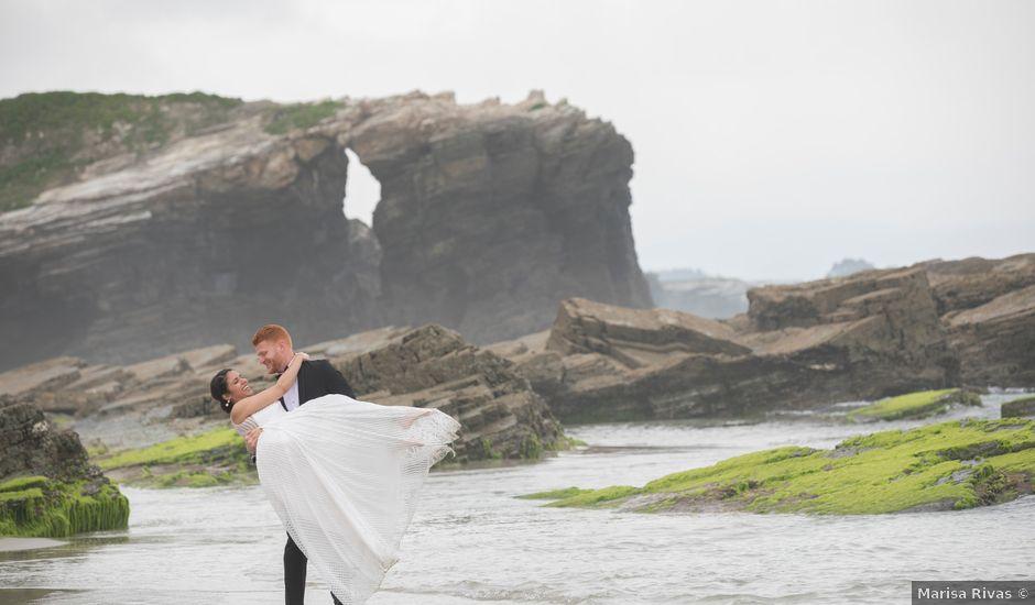 La boda de Fran y Andrea en Oleiros, A Coruña