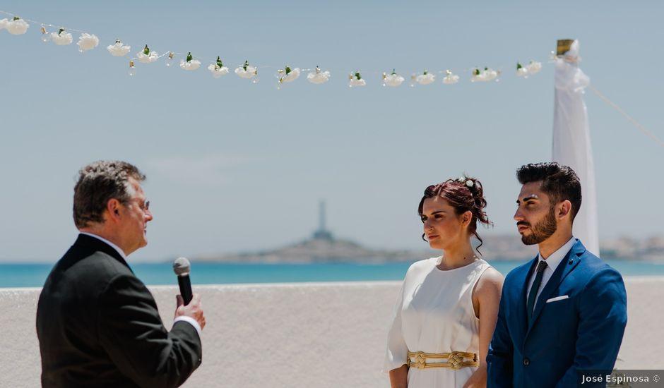 La boda de Javier y Laura en La Manga Del Mar Menor, Murcia