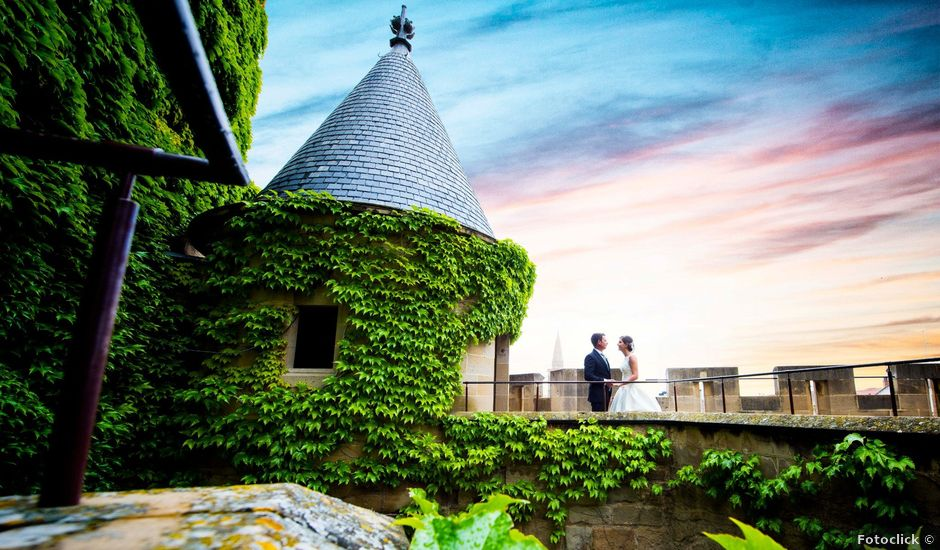 La boda de Carmelo y Beatriz en Santacara, Navarra