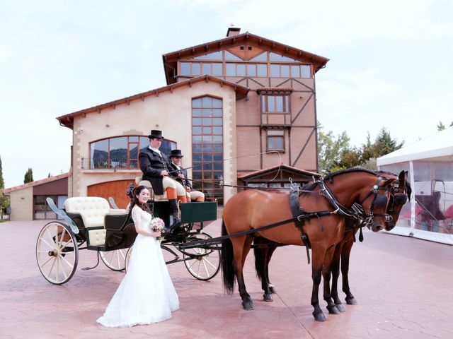 La boda de Huile y Xue  en Logroño, La Rioja 48