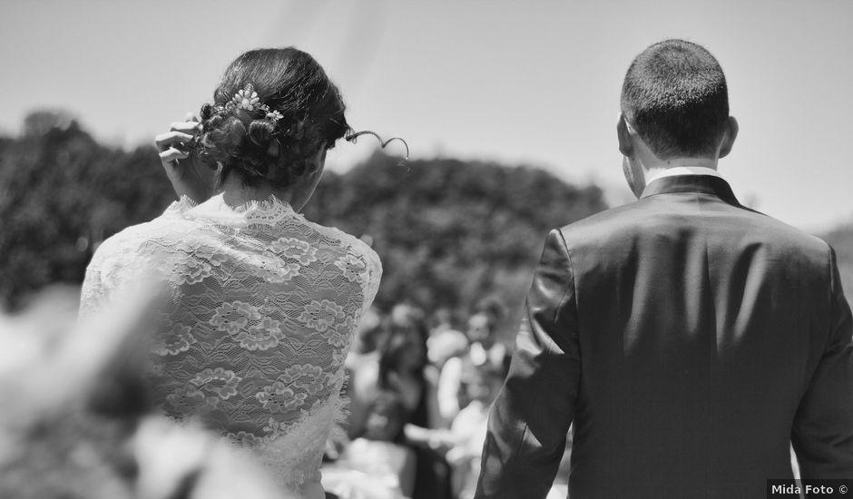 La boda de Israel y Anna en Sant Andreu De La Vola, Barcelona