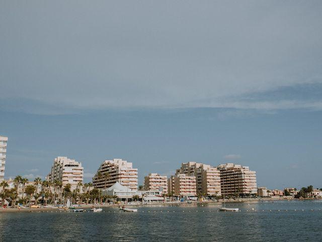 La boda de Juampa y Encar en La Manga Del Mar Menor, Murcia 3