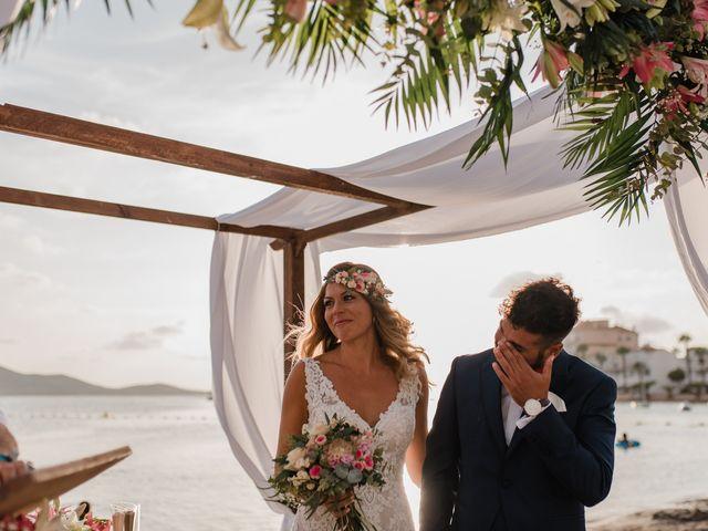 La boda de Juampa y Encar en La Manga Del Mar Menor, Murcia 1