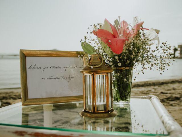 La boda de Juampa y Encar en La Manga Del Mar Menor, Murcia 28