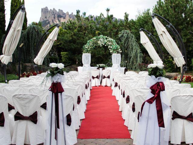 La boda de Toni y Gina en El Bruc, Barcelona 1