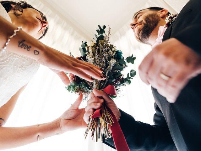 La boda de Andres y Carolina en L' Ametlla Del Valles, Barcelona 11