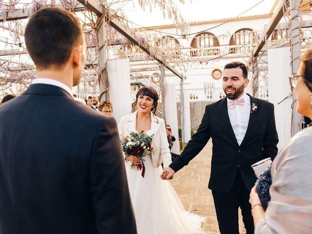 La boda de Andres y Carolina en L' Ametlla Del Valles, Barcelona 17