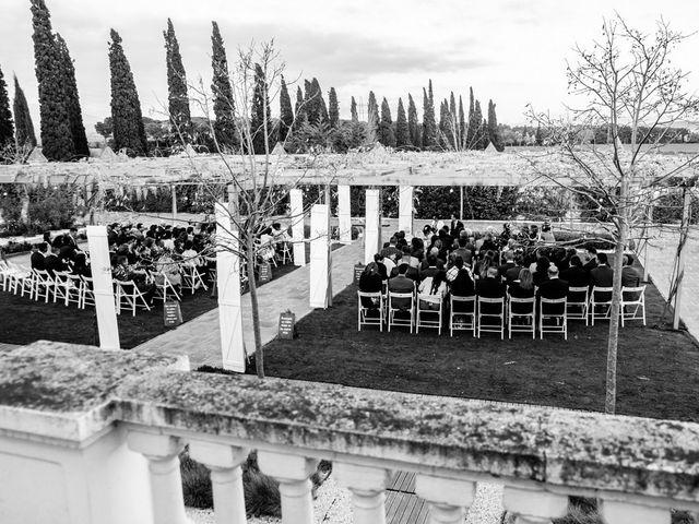 La boda de Andres y Carolina en L' Ametlla Del Valles, Barcelona 18