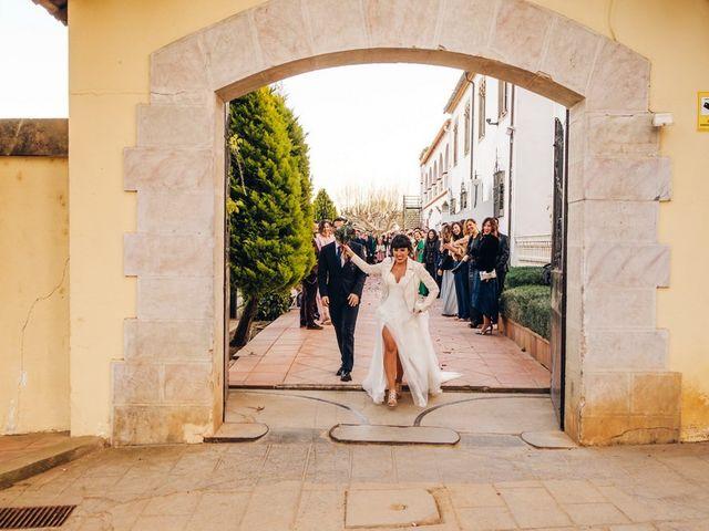 La boda de Andres y Carolina en L' Ametlla Del Valles, Barcelona 22